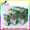 Ribbon Handles Foldable Shopping Fancy Paper Gift Bag Christmas Gift Shopping Bag