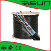 4 Pairs LAN Cable, FTP Cat5e with Messenger, ISO/CE/RoHS
