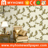 Interior Damask PVC Deep Embossed Wall Paper for Home Decoration