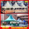 Colorful Clear Roof High Peak Pagoda Gazebo Tent