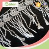 Sequin and Beads Fringe Chemical Lace as Decorate Skirt Lace