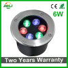 Two Years Warranty 6W RGB LED Underground Light