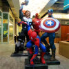 Life Size Resin Famous Cartoon Movie The Avengers Marvel Sculpture for Shopping Mall and Street Factory Made
