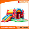 2017 Inflatable Moonwalk Fire Work Jumping Bouncer with Slide (T3-024)