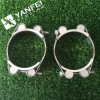 85-95 SUS 304/316 Double Bolts Hose Clamp