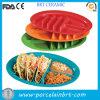 Mexican Enjoy Color Ceramic Taco Rack