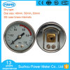 1.5inch Dial Stainless Steel Case Brass Internals Common Pressure Gauge
