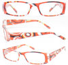 Plastic Beautiful Pattern Reading Glasses (RP483048)