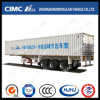 Cimc Huajun Extended Type 3 Axle Van Semi Trailer