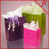 Matte Colored Euro Totes Shopping Paper Bags