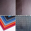 Polyester Dobby Honey Comb Oxford Fabric with PU/PVC Coating