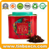 Christmas Spiced Tea Tin for Metal Tea Canister Gift Packaging