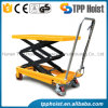 Mini Mobile Hand Roller Hydraulic Platform Lift Table