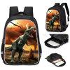 Primary School Dinosaur Schoolbag Child Backpack Cross-Border Aliexpress Amazon Kindergarten Schoolbag Male