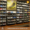 High Quality Polished Stainless Steel Sport Shoe Store Display Rack