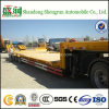 Tri Axle 60tons Low Bed Truck Semi Trailer for Sale
