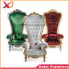 Hotel Wedding Furniture King and Queen Chair Throne Chair for Party Banquet Event