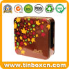 Square Chocolate Tin Container for Food Can Packaging
