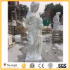 Figure White Marble Hand Carved Sculpture White Statues