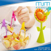 2016new! Flower Birds Design Plastic Fork& Fruit Fork for Kitchen