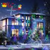 Laser Light Factory New RGB Full Color Motion Patterns Star Laser Light Shower Christmas Decor Holiday Garden Lighting