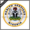 Nigeria Emblem Woven Label for Military Uniform (BYH-10316)