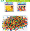 5g Rainbow Gel Water Beads for Vases Filler Home Decorations Kids Tactile Sensory Toys