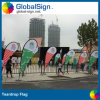 China Factory Direct Outdoor Advertising Full Color Printing Custom Teardrop Flags Banners