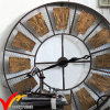 Beautiful Retro Vintage Industrial Rustic Round Deocritive Metal Wall Decor Clock