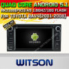 Witson Android 5.1 Car DVD GPS for Toyota RAV4 (2001-2008) /Corolla (2000-2006) with Chipset 1080P 16g ROM WiFi 3G Internet DVR Support (A5715)