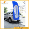3.4m Event Promotion Aluminium Digital Printing Beach Flag/Feather Flag