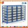 Plastic Warehouse Garage Storage Container Bins Storage Shelving Rack (Zhr277)