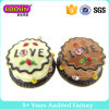 Looks Delicious Cakes Enamel Charm with Love