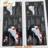 Winskys Hot Sale Socks Packaging Private Label Printing, Sock Label Sticker