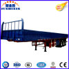 ISO CCC Approved High Quality Tri Axle Side Wall/Side Board/Fence Utility Semi Truck Tractor Trailer Sell at Reasonable Price