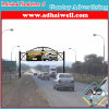 Gantry Spanning Outdoor Advertising Billboard Construction (w18 xH3)