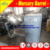 Stainless Steel Amalgamator Machine for Gold Purifying Mercury Barrel Amalgamator Gold and Mercury Distiller