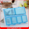 Plastic 6-Cases Pill Box (KL-9112)