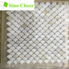Italian White Marble Floor Tile Mini Fish Scale Mosaic Tile