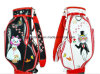 Japanese Golf Bag, Fashion Golf Bag, Golf Bag with Wheel