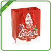 Promotional Custom Logo Christmas Paper Shopping Bag