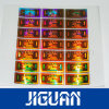 Custom Top Quality Hot Stamping Gold Foil 3D Hologram Sticker