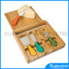 Cheese Cutting Board Set with Stainless Steel Cheese Knife