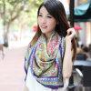 Ladies Fashionable 100% Pure Silk Satin Square Scarf, Womens Square Shawl