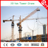 Qtz125 (6015) Max Load 10 Ton Stationary Tower Crane for Sale