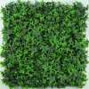 Natural Looking Outdoor Artificial Foliage Plant Leaves Panel Vertical Garden Green Wall Grass Turf for Wedding Shop Office Store Hotel Home Landscape Decor