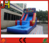 Happy Birthday Theme Inflatable Water Slide for Party