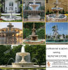 Large Spuare Decoration Granite Water Fountain