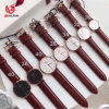 Low MOQ Classical Design Water Resistant Leather Watch for Man & Woman#V828