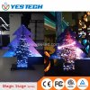 Full Color Unique Christmas Tree Shape LED Display